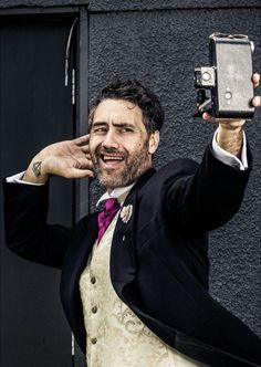 Tez Mercer Photography of Taika Waititi, October 2015 Flight Of The Conchords, Taika Waititi, Boy Pictures, Suit Shop, Interesting Faces, Film Director, Celebs, Celebrities, Celebrity Crush