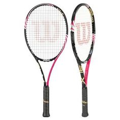 WILSON BLADE 98 PINK BLX TENNIS RACQUET for $159.00+ FREE Stringing & Ground Shipping