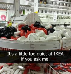 When they were just asking to be pranked with this display of kitchen timers. Super Funny, Really Funny, The Funny, Tumblr Funny, Funny Memes, Hilarious, Ikea Memes, Shark Meme, Home Quotes And Sayings