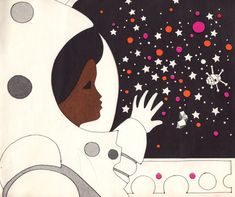 "explore-blog: "" Visionary vintage children's book celebrates gender equality, ethnic diversity, and space exploration with a black female astronaut two decades before that became a reality """