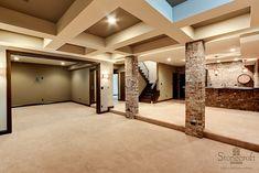 Love this basement!