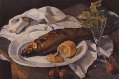 Imagen de http://uploads2.wikiart.org/images/zinaida-serebriakova/clams-and-lemon-1923.jpg.