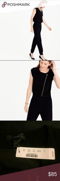 651fb5a240eff5 NWT J. Crew black asymmetrical jumpsuit NWT J. Crew black asymmetrical  jumpsuit in new