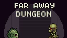 Far Away Dungeon has just been added to GameDev Market! Check it out: http://ift.tt/1OBpOO7 #gamedev #indiedev