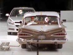 2009 Chevy Malibu vs 1959 Bel Air Crash Test
