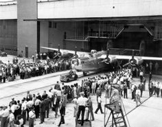 28 June 1945: The very last of 18,482 B-24 Liberator very long range heavy bombers rolled off the assembly line at Ford's Willow Run Aircraft Plant, located between Bellview and Ypsilanti, Michigan.
