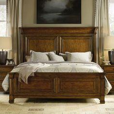 Hooker Furniture Tynecastle Panel Bed - 5323-90250