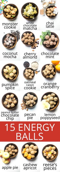 Energy balls: a low sugar, no bake, healthy snack! | #lowsugar | #healthy | #snack | #energyballs | #highproteinrecipes