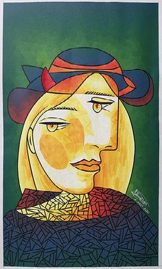 Picasso, Mosaic, Painting, Art, Art Background, Mosaics, Painting Art, Kunst, Paintings