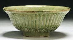A Chinese Antique Longquan Porcelain Bowl D: 8""