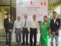 Chief Guest at Blood Donation camp