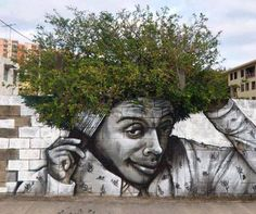 When street art meet nature!