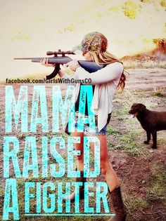 www.TwoCannons.net www.facebook.com/GirlsWithGunsCO Country girl, girls with guns, rifle, huntress, southern