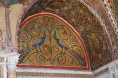 Орнамент и стиль в ДПИ - Мозаики зала короля Роджера в Норманнском дворце, Палермо, XII в.