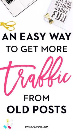 An Easy Way to Get More Traffic From Old Posts   Do you want blog traffic tips? Growing your blog traffic can be hella hard? I'm always looking for quick and easy ways to get more readers, subscribers and income! Here is a cool and neat traffic trick to help you bring readers to old posts (and it's not the Looping function in BoardBooster!) Click here to learn the step-by-step tutorial!