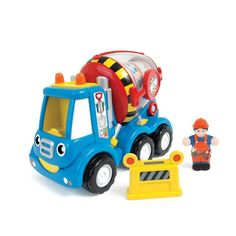 WOW toys! We have a large selection of these great, bright colored, durable toys! A favorite with children 18 months and up.