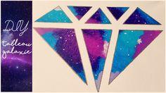 DIY #9 | Tableau Galaxie Diamant ❤ Facile (Molly Josefin)