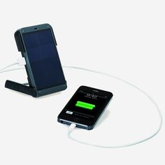 How cool is this solar-powered phone charger?
