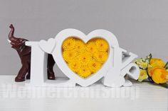 #heart #love #yellow heart home decor love sign yellow heart paper by WonderCraftShop