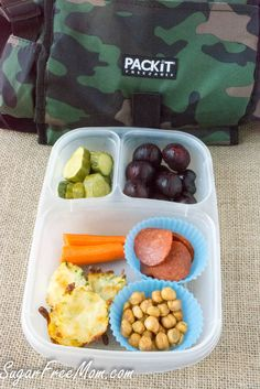 3 Low Carb Back to School Lunches  sugarfreemom.com