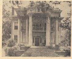 Vintage photograph - Opelika, Alabama