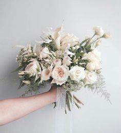 Blush Wedding Flowers, Bridal Flowers, Floral Wedding, Bride Bouquets, Bridesmaid Bouquet, Our Wedding, Dream Wedding, Diy Wedding Decorations, Floral Arrangements