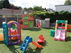 Outdoor Play Area Ideas For Toddlers Jack and jill childcare . Kids Backyard Playground, Playground Design, Backyard For Kids, Playground Ideas, Outdoor Swing Sets, Outdoor Play Areas, Outdoor Fun, Outdoor Toys, Garden Play Equipment