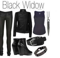 Marvel Black Widow Outfit.... Awesome.
