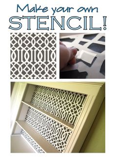 Tutorial: How To Make Your Own Stencil
