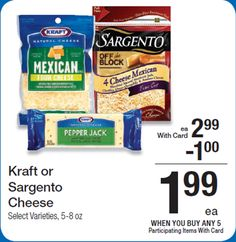 Walmart: Kraft Sliced Cheese Just $1.24!