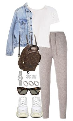 """Untitled #5279"" by theeuropeancloset on Polyvore featuring Le Kasha, Levi's, Louis Vuitton, Balenciaga, CÉLINE, ASOS, Casio and Witchery"