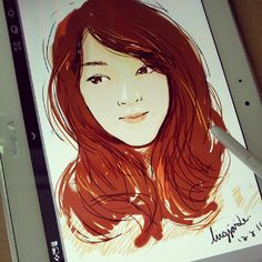 My sketch with Samsung Galaxy Note 10.1 ;)