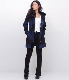 Preto longo casaco de marinheiro manga double breasted sobretudo de 4 botões feminino
