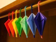 Origami Maniacs: Cute Origami Umbrellas