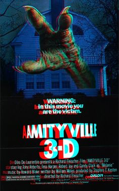 Amityville 3D poster! i don't like much 3d movies but this poster is cool