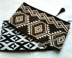 Clutch tapestry wayuu