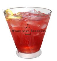 The Woodford Reserve Belmont Jewel, the Official Cocktail of the Belmont Stakes. Yield: 1 cocktail  Ingredients:        1 1/2 oz Woodford Reserve bourbon      2 oz lemonade      1 oz pomegranate juice      lemon wedge or cherry for garnish
