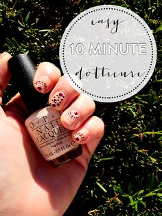 Easy 10 Minute Dotticure Tutorial | #SallyBeauty