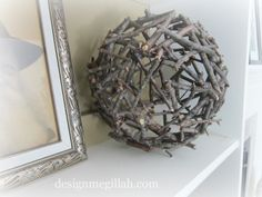 twig ball - can make to protect newly leafed out plants from pesky rabbits
