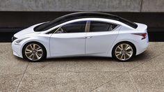 Nissan Ellure Hybrid Sedan Concept   Nissan USA