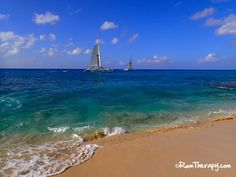 Cupecoy Bay Beach, St. Maarten - have you explored the beach and caves of Cupecoy yet?