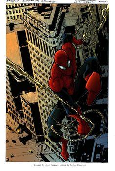 #Superior #Spiderman #Fan #Art. (Superior Spiderman Colors) By: GeekGilmu. (THE * 5 * STÅR * ÅWARD * OF * MAJOR ÅWESOMENESS!!!™)