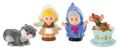 Fisher-Price Little People Disney Princess Cinderella and Friends