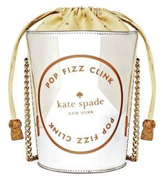 Kate Spade New York 'Place Your Bets' Champagne Bucket Purse