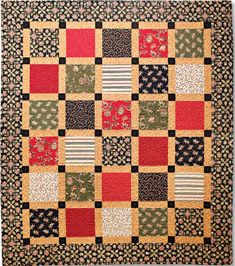 Country Estate Quilt Pattern