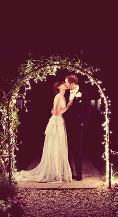 This would be so wonderful for an outdoor wedding!!