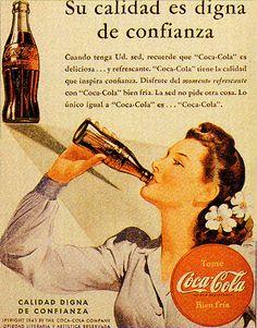 coca_cola_1942 evolucion de la publicidad