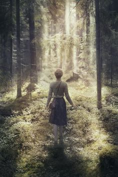 Wherever you are is called Here,  And you must treat it as a powerful stranger, Must ask permission to know it and be known. The forest breathes. Listen. It answers,  I have made this place around you,  If you leave it you may come back again, saying Here.  ...from Lost by David Wagoner  image: Kirill Vorontsov