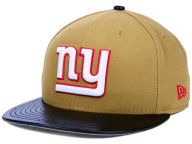 Find the New York Giants New Era Wheat/Brown New Era NFL Leather Wheat 9FIFTY Snapback Cap & other NFL Gear at Lids.com. From fashion to fan styles, Lids.com has you covered with exclusive gear from your favorite teams.