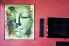 Earthcote pandomo colour BIG (midas 300) #PaintSmiths #homedecor #wallart #pinkideas Art Techniques, Street Art, Pink, Colour, Wall Art, Painting, Hot Pink, Color, Painting Art